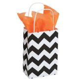 Small Classic Chevron Paper Shopper Paper Shopping Bags