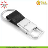 High Quality Metal and Leather Key Tag