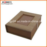Grey Cardboard Gold-Hotstamping for Gift Paper Box, Perfume Box (HYG001)