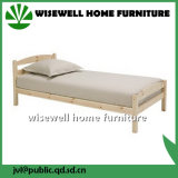 Solid Pine Wood Single Bed Design
