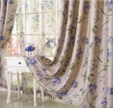 Flax Jacquard Curtain Roman Curtain Environmental Protection The Shading (MM-105)