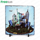 Freesub Sublimation Blanks Rock Slate Photo Frame 30*30cm (SH-31)