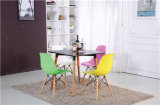 Colorful Wood Dining Table and Chair for Outdoor