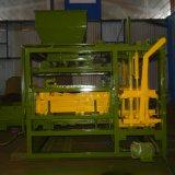 Qt 4-15 Cured Concrete Block Making Machine /Semi Automatic Block Machine