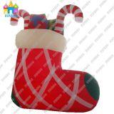 OEM Inflatable Christmas Sock Model for Christmas Holiday