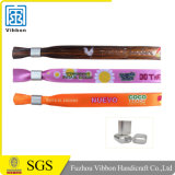 Personalized One Time Use Satin Wristband Promotional Gift