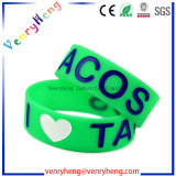 Embossed Debossed Silicon Rubber Wristbands Bracelets for Promotional Gifts