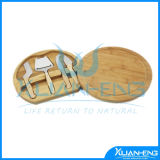 Bamboo Cheese Cutting Board Set with Cheese Knife