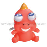 Rubber Eyes Rotating Animal Keyring (EYT024)