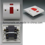 C9 45A250V Switch with Neon Bakelite White LED Light Wall Switch