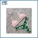 Women Sexy Contrast Color Brazilian Bikini
