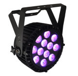 DMX 512 RGBWA 5 in 1 LED Waterproof Outdoor PAR Light with IP68 Rating