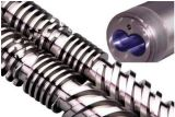 65-132 Conical Screw and Barrel Used for PVC Sheet / 65-132 Double Screw and Barrel Used for Plastic Profile