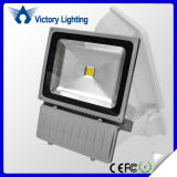 Black Color White Die-Casting Aluminum Alloy IP65 100W LED Floodlight