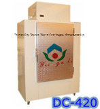 Outdoor Cold Wall Bagged Ice Storage Bin for Gas Station Use
