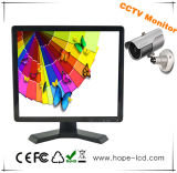 15 Inch 4-Channel CCTV LCD Monitor for Multi-Function Security Monitor with HDMI/VGA/BNC1/BNC2/Bncout/USB