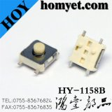 Four Pin Tact Switch with 6.5*6.5mm SMD Registration Mast
