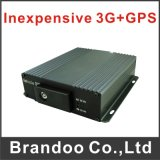 Cheapest 4 Channel 3G Bus DVR with GPS, Only 220USD, Support GPS and 128GB SD Card Model Bd-326gw