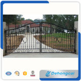 Opening Single Arched Aluminum Gate