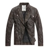 2017 New Design Fashion PU Jacket for Men