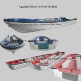 China Aqualand 23feet 7m Fiberglass Passenger Boat/Water Taxi/Panga Boat (230)