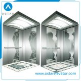 Passenger Elevator Cabin with Good Decoration and Etching Finish (OS41)