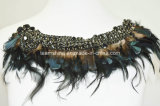 Grace Peacock Fur Necklace