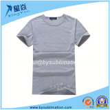 Gray Color Wholesale Modal Tshirt with Round Neck