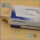 Sterile Medical Disposable Wooden Tongue Depressor/Medical Wooden Tongue Spatula