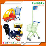 Hypermarket Supermarket Kiddy Shopping Trolley with Toy Car