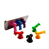 Funny Sucker Man Silicone Mobile Phone Holder Stand