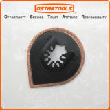 70mm (2-3/4′′) Tear Drop-Shaped Oscillating Multi Tool Carbide Blade