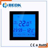 Electrical Heating Thermostat with Large Touch Screen and Weekly Program