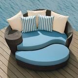 Outdoor Rattan Chaise Sun Beach Lounge Chair