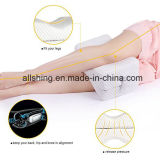 Leg Pillow with Breathable Washable Cover and Ergonomic Support Design