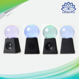 Colorful Portable Mini Water Crystal Ball Rotation LED Bluetooth Speaker for Computer/iPhone/Touch 4/Android