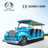 12 Seater Electric Golf Vehicle Classic Cart Sightseeing Car