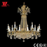 Crystal Chandelier with Glass Decoration Wh-82049b