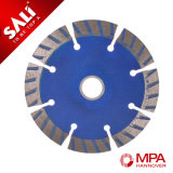 Cold Pressed Segment Turbo Diamond Saw Blade for Marble Cutting