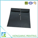 Custom Size Black Paper Envelope Packaging