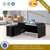 Glossing Office Table Glass Office Furniture with Hanging Pedestal (NS-GD023)