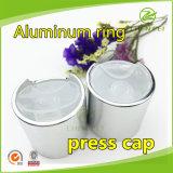Aluminum 24mm Plastic Hand Press Cap for Bottles