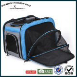Travel Ultra Light Comforable Dog Sarry Storage Bags Foldable Airline Approved Soft Sided Expandable Pet Carrier Bag Sh-17070203