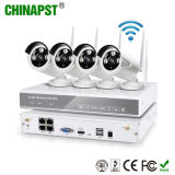 China Factory Bullet WiFi IP Cameras 4 Channel NVR Kit (PST-WIPK04AH)