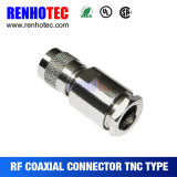 Clamp Type TNC Plug Connector for LMR200