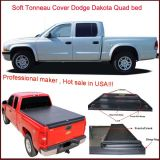 3 Year Warranty 100% Matched Pickup Truck Bed Covers for Dodge Dakota Quad Cab 2000-2004