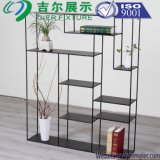 Books Wood Steel Decourate Stand Rack Shelf for Display