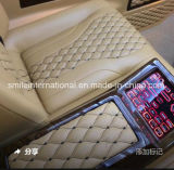 High Quality Embroidery Leather for Car Seat Sofa Covering More Designs Are Developing