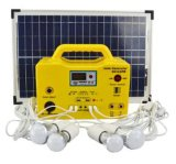 20W/12ah/12V Mini Home Renewable Energy Solar Power System with PV Panel