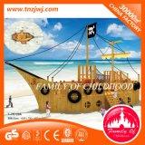 Manufacturer Children Wooden Outdoor Playground Equipment for Sale